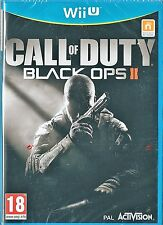 Call of Duty Black Ops II (Nintendo Wii U) BRAND NEW UK