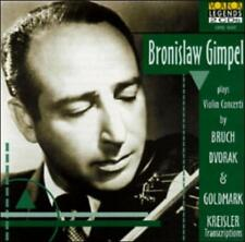 Bronislaw Gimpel Plays Bruch - CD NEW