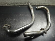 YAMAHA MOTORCYCLE BIKE EXHAUST PIPE PIPES CHAMBER CAN FLANGE