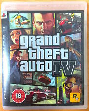 Grand Theft Auto IV - Playstation PS3 Games - Good Condition - GTA 4