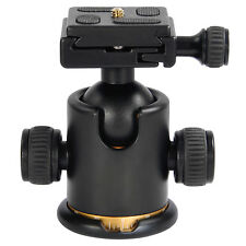 12Kg Swivel Camera Tripod Ball Head w/ Quick Release Plate Photo Video Studio