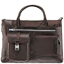 Piquadro Frame brown Ladies Expandable Briefcase/Office bag CA1618FR/M
