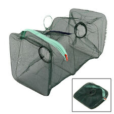 Bait-Fish Trap Cast Dip Net Crab Lobster Minnows Shrimp Crawfish Smelt Eels