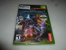 BRAND NEW FACTORY SEALED XBOX VIDEO GAME MAGIC THE GATHERING BATTLEGROUNDS NFS