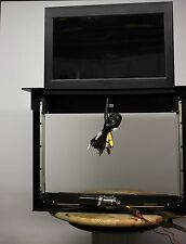 "Motorized Hidden Pop-Up 20"" LCD TV AND Lift  for Cabinet, RV INCLUDES 20"" LCD TV"