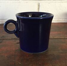 Fiesta Ware Fiestaware Mug Cup HLC Cobalt Dark Blue Ring Handle Contemporary