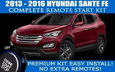 2013 - 2016 HYUNDAI SANTE FE REMOTE CAR STARTER - COMPLETE - EASIEST INSTALL!