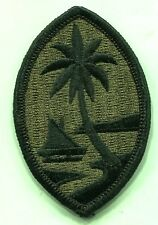 US Army Guam National Guard OD Subdued Patch