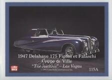 1992 #115 1947 Delahaye 175/1953 Chrysler Thomas Special Non-Sports Card 2a1