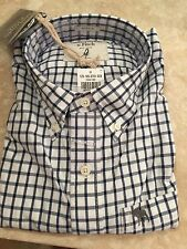 Abercrombie A&F mens Blue And White Stripe M NWT dress shirt was $78.00