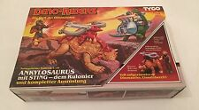 Tyco Dino Riders Ankylosaurus With Sting Boxed Rare Vintage Retro Dino-Riders
