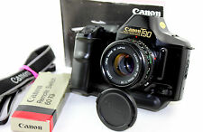 CANON T90 35mm Classic SLR Camera with Canon 1:1.8 FD 50mm Prime Lens.