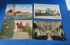 (4) Postcard(s): - MO - Union Station, Art Museum,  etc etc- Early 1900s