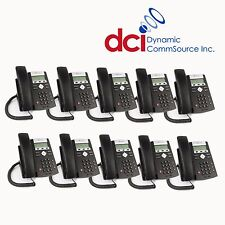 Refurbished 10 Pack of Polycom SoundPoint IP 331 Telephones PoE *FREE SHIP
