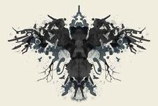 Enmarcado impresión-Psicología borrón de tinta (Imagen Arte Médico Yoga Mente La Salud Mental)