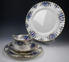 Royal Albert MOONLIGHT ROSE 5 Piece Place Setting EXCELLENT
