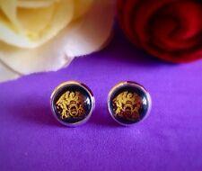 Queen Freddy Mercury Band Fan Stud Earrings 10mm