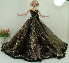 Handmade princesse mariage  vêtements pour Poupée Barbie