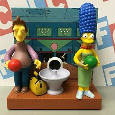 Playmates The Simpsons World of Springfield Environment Jacques Marge Bowling