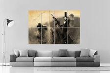 President Lincoln Equitazione un orso Arte Poster Grande formato A0 Larghezza