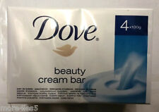 4 x 100g Dove Original Beauty Cream Soap Bar Contain 1/4 Skin Moisturising Cream