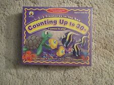 Treasures in the Sea:Counting Up to 30-Great for School by Carson-Dellosa/Sealed