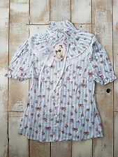 NEW Hell Bunny flower lolita top shirt L