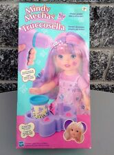 Vintage  Rare Mindy Mechas Truccosella Hasbro Wee Lil Miss Dress Up Puppe  Misb