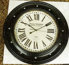 "BULOVA LARGE WALL CLOCK 23"" IN DIAMETER-  C4818"