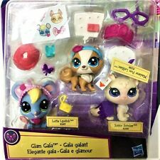 Hasbro LPS Littlest Pet Shop Glam Gala set Pets in the City figure Boy Girl Toy
