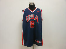 Nike USA Dream Team Olympic Patrick Ewing #6 Basketball Jersey sz 2XL 2x Large