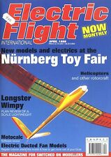 ELECTRIC FLIGHT MAGAZINE 1998 APR LONGSTER WIMPY, GET MORE FROM YOUR GNAT