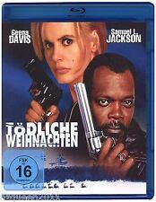 Tödliche Weihnachten [Blu-ray] Geena Davis, Samuel L. Jackson * NEU & OVP * KULT