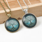 Hot Sale Starry Sky The Tree of Life Pendant Necklace Long Sweater Chain Jewelry
