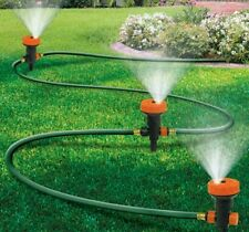 Portable Lawn Sprinkler System 3-Heads / 5-Settings Garden Watering Free Shippin