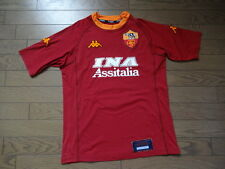 Limited Edition AS Roma #8 Nakata 100% Original Jersey Shirt M 2000/01 MINT