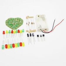 LED Heart Cycle Lamp Suite DIY Kit LED Flashlight Electronic Production kit