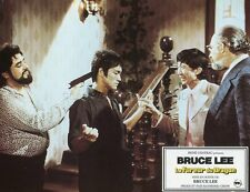 BRUCE LEE LA FUREUR DU DRAGON 1972 VINTAGE LOBBY CARD ORIGINAL #2