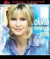 BRAND NEW SEALED Olivia Newton-John - Back with a Heart DTS 5.1 DIGITAL SURROUND