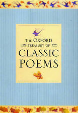 The Oxford Treasury of Classic Poems,GOOD Book