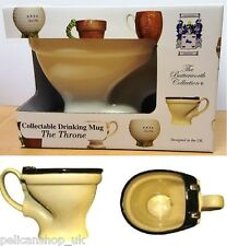 BUTTERWORTH COLLECTION - THE THRONE TOILET POTPOURRI BOWL MUG CUP NOVELTY GIFT