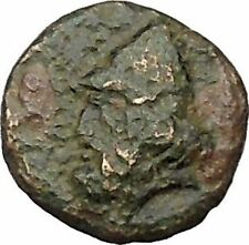 Birytis in Troas 300BC Small rare Ancient Greek Coin Kabeiros or Odysseus i46054