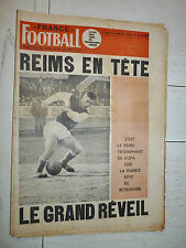 FRANCE FOOTBALL 1266 07/07 1970 REIMS PSG LILLE BUDZINSKI NATIONAL BILAN PELE