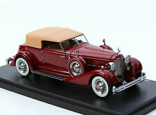 1934 Packard 12 Dietrich Victoria 1:43 Automodello AM43-PAC-34D-RD Red  43P020