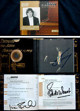 Zoltan KOCSIS, Ivan FISCHER, De WAART Signed GREAT PIANISTS OF THE 20TH CENTURY