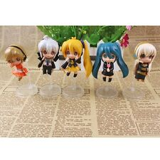 Cute ! Hatsune Miku 6cm PVC Mini Figure Set of 5 pcs