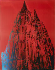 ANDY WARHOL - Cologne Cathedral, 1985 - Offset Lithograph ART PRINT POSTER