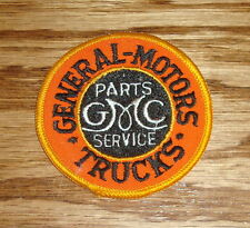 "Vintage GMC General Motors Trucks Embroidered Automotive Sew On Patch 3"" Round"