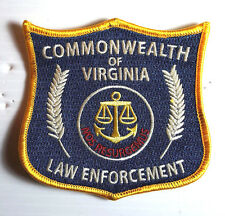 "Walking Dead- Commonwealth of Virginia 4"" Embroidered Patch- FREE S&H (WDPA-05)"
