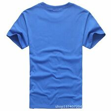 New MEN'S NEW SHORT SLEEVE TAGLESS T-SHIRT S-3XL